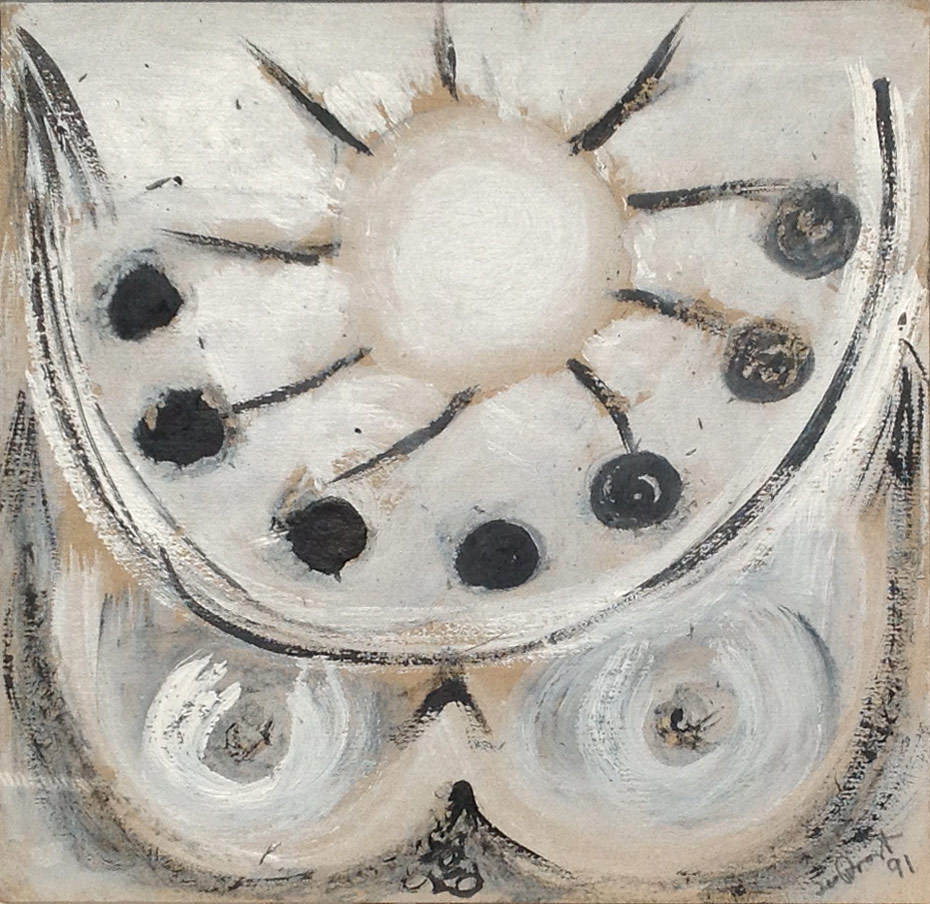 Terry Frost, Black Olives Round the Sun