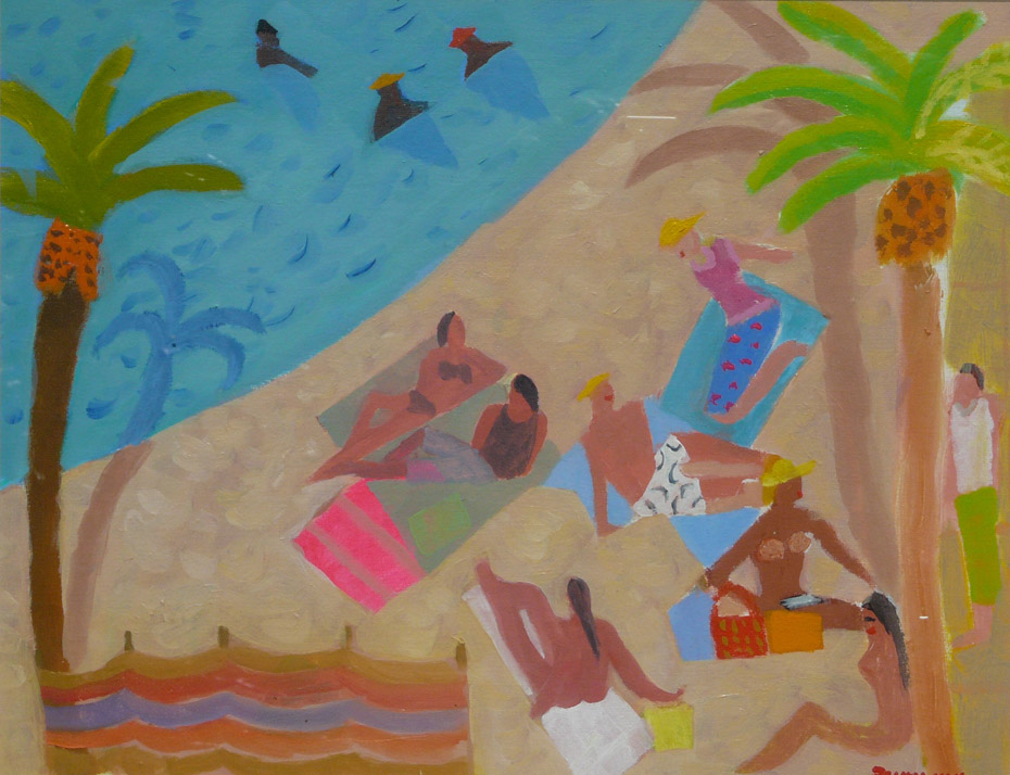 Alan Furneaux, Tropical Poolside