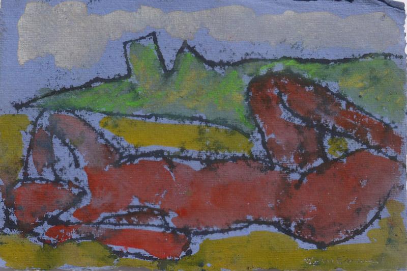 John Emanuel, Nude in a Landscape