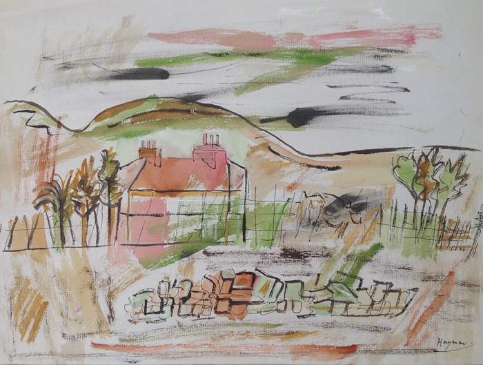 Patricia Hayman, Cornish Farm