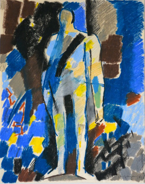 Keith Vaughan, Standing Figure