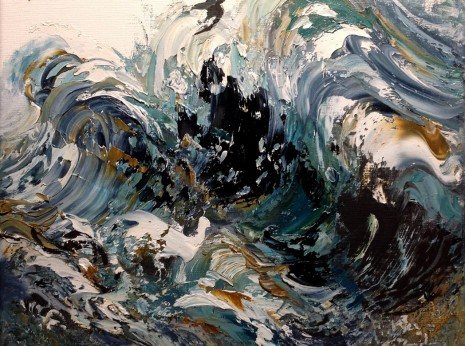 Maggi Hambling, Rearing Summer Wave