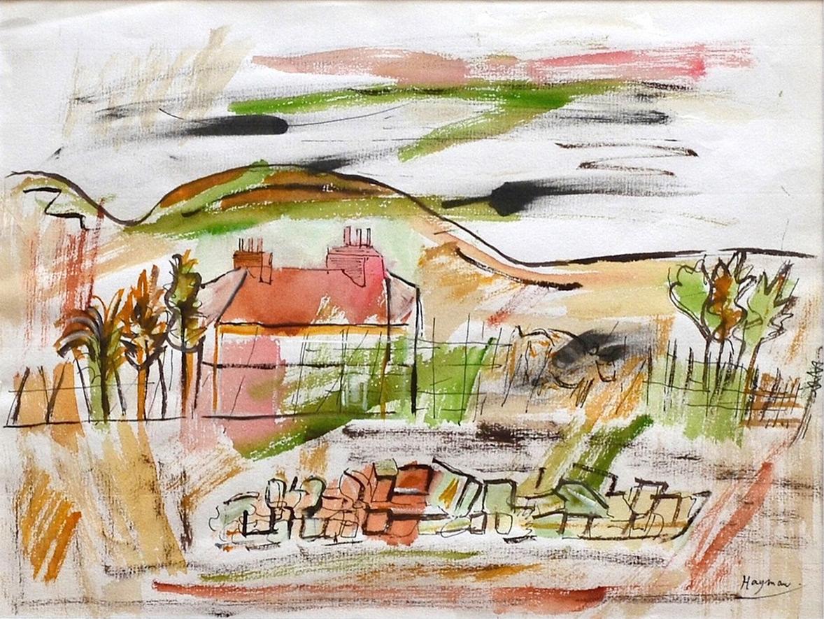 Patrick Hayman, Cornish farmhouse
